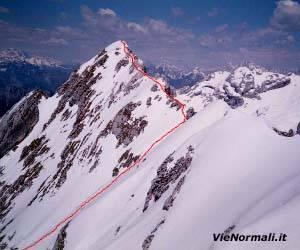 Via Normale Monte Teverone