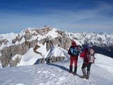 Via Normale Zuccone Campelli - In cresta verso la cima