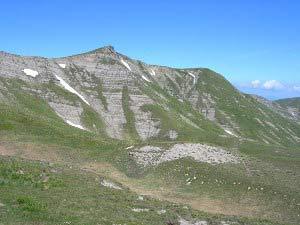Via Normale Monte Pizzitello