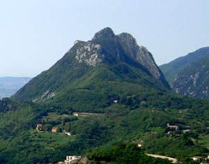 Via Normale Monte Castello di Gaino