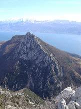 Via Normale Monte Castello di Gaino - Castello di Gaino South Face