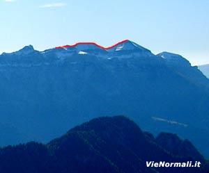 Via Normale Monte Pavione