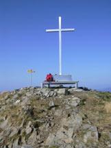 Via Normale Monte Tamaro - La croce di vetta.