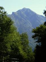 Via Normale Monte Tamaro - Il Tamaro salendo a Neggia.