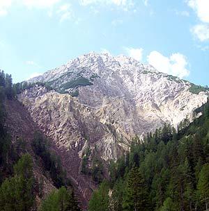 Via Normale Sarlkofel - Monte Serla