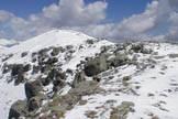 Via Normale Monte Colombine - Verso la cima