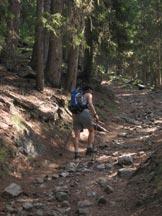 Via Normale Lutterkopf - Monte Luta - All´inizio della via normale