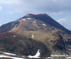 Via Normale Monte Crestoso