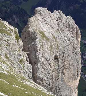Via Normale Torre Exner (Ferrata Tridentina)