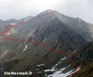 Via Normale Monte Frerone
