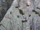 Via Normale Bric Agnellino - Ferrata degli Artisti - Traversata in parete