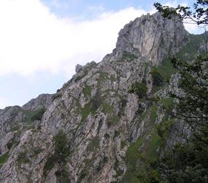 Via Normale Monte Grona - Ferrata del Centenario CAO