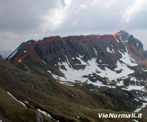Via Normale Monte Cadino