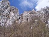 Via Normale Monte Coltignone - Sentieri GER e R. Spreafico - Lo stretto e ripido canale di salita