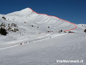 Via Normale Monte Sodadura - Cresta SW
