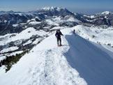 Via Normale Monte Sodadura - Cresta SW - Cresta prima della cima