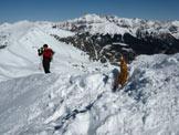 Via Normale Monte Sodadura - Cresta SW - Sulla cima
