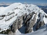 Via Normale Monte Baldo - Coal Santo - Il M. Telegrafo visto dalla cima del Coal Santo