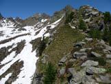 Via Normale I Gui - Punta E - Cresta di salita