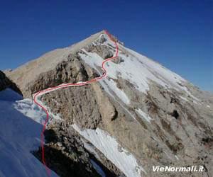Via Normale Monte Cavallo (Piz Ciaval)