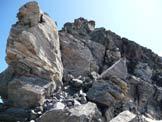 Via Normale Pizzo Scalino - Cresta SW - Tratto di cresta