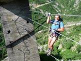 Via Normale Monte Tovo - Ferrata Staich - Primo pont des singes
