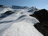 Via Normale Cima di Lemma Est - La lunga cresta di salita
