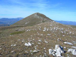 Via Normale Monte San Franco (da S)