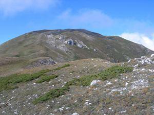Via Normale Monte San Franco (da N)