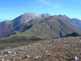 Via Normale Cresta di Rotigliano - Dalla Cresta di Rotigliano 2096 m vista della Catena Ovest del Gran Sasso