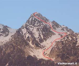 Via Normale Monte Antander