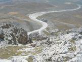 Via Normale Monte Infornace - Il canalone breccioso chiamato la Canala