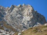 Via Normale La Cimetta - L´ampia conca settentrionale del Monte Prena