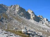 Via Normale La Cimetta - Il Piano d´Abruna 2350 m e i torrioni settentrionali del Prena