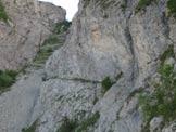 Via Normale Monte Toraggio - La gola dell´ Incisa.