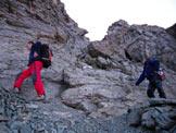 Via Normale Piz Platta - Paretina W del tratto di cresta fra il Piz Platta e il Talihorn