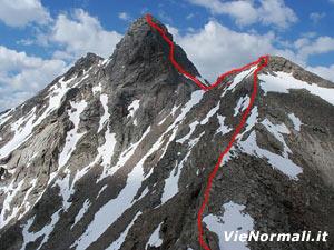 Via Normale Monte Gavia