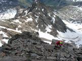Via Normale Monte Gavia - Verso la cima