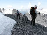 Via Normale Cima Tuckett - Sulla cima