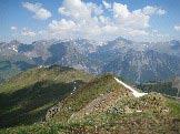 Via Normale Pizzo Borron - Panorama dalla cima