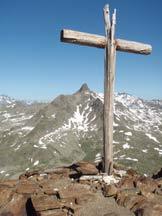 Via Normale Monte Gaviola - Dalla cima vista sul M. Gavia