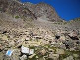 Via Normale Piz Guglia - Sul sentiero fra Munteratsch Suot e Sur