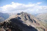 Via Normale Punta Orsera - Il Monte Vago e la Cresta Nord dalla cima.
