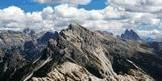 Via Normale Campo Cavallo / Grosser Rosskopf - Panorama dalla vetta: Picco di Vallandro e Dolomiti di Sesto