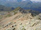 Via Normale Piz Calderas - In discesa sulla cresta SW del Piz d´Agnel