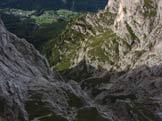 Via Normale Torre Dusso - I dirupi verso S. Fosca