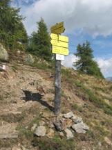 Via Normale Thurntaler - Inizio via normale, loc. Alpeggele