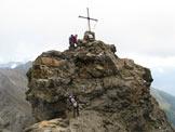 Via Normale Torrione d´Albiolo - Il roccione sommitale della cima