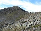 Via Normale Cima di Casaiole - La cresta di salita vista dal passo