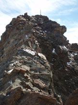 Via Normale Cima Dosegù - Cresta NW - Tratto di cresta verso la vetta